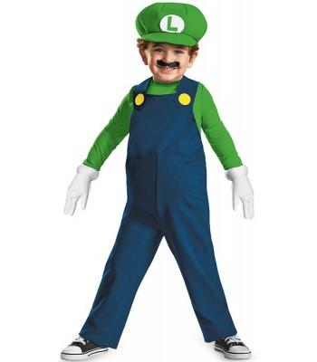 Déguisement Luigi bébé