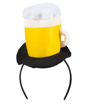 Mini chapeau chope de bière