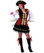 Déguisement femme pirate - wa164s