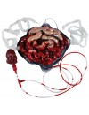 Faux intestins avec pompe à sang - accessoire gore pour halloween