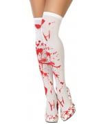 Paire de bas avec du sang une paire de bas ensanglantés proposé en taille unique pour femme