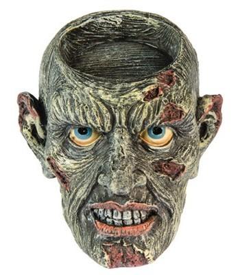 Bougeoir zombie halloween