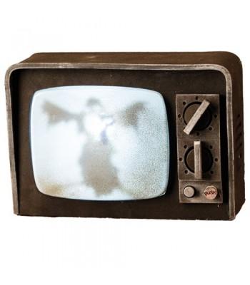 Télévision hantée lumineuse et sonore