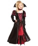 Déguisement de vampire pour fille luxe de 7 à 12 ans