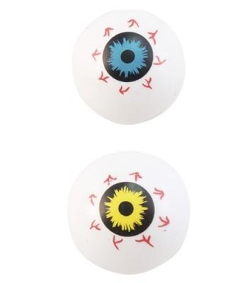 Sachet de 8 balles yeux halloween
