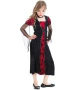 Déguisement vampire lady halloween pour filles dde 5 à 10 ans