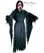 Déguisement de Scream pour enfant de 9 à 12 ans, masque avec pompe à sang inclus