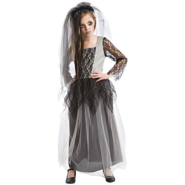 D guisement mari e zombie fille la magie du d guisement halloween - Deguisement halloween mariee ...
