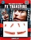 Réalisez le sourire du Joker grâce à ce maquillage tranfert 3D - Sourire sanglant Halloween