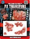 Maquillage pustules transfert 3D halloween
