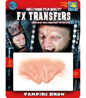 Front de vampire transfert 3D