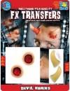 Cornes de diable 3D transfert, un maquillage ultra réaliste pour vos soirées anges et démons ou halloween