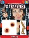 Maquillage pieu 3D transfert