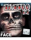 Tatouage tête de mort idéal pour réaliser simplement tous vos maquillages pour halloween