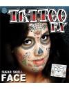 Tatouage mexicain jour des morts
