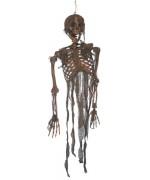 Squelette brulé à suspendre idéal pour une déco d'halloween