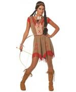 Déguisement guerrière indienne femme, incarnez une véritable Sioux