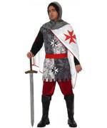 Déguisement de chevalier des croisades - costume médiéval pour homme