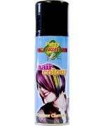 Spray pour cheveux noir, laque de couleur 125 ml
