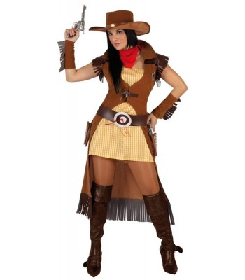 Déguisement cowgirl adulte
