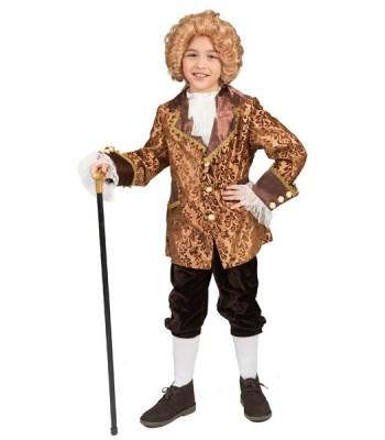 Déguisement marquis garçon baroque