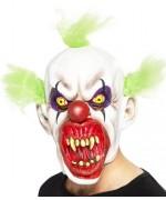 Masque de clown sinistre en latex, idéal pour vos déguisements d'halloween