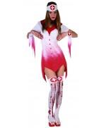 Déguisement infirmière sanglante halloween WA157S