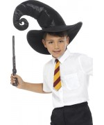Kit de sorcier pour enfant avec cravate, chapeau et baguette magique