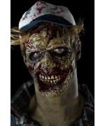 Prothèse zombie, masque en mousse latex pour adulte