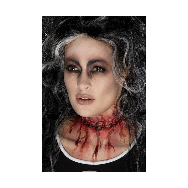 Maquillage zombie latex - Maquillage halloween latex ...