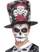 Chapeau haut de forme mexicain fête des morts - Dia de los muertos