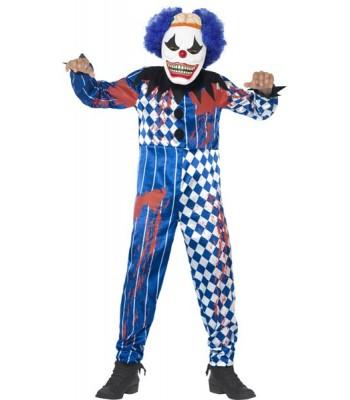 Déguisement clown sinistre halloween enfant