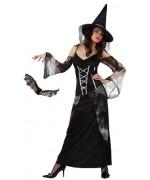 Déguisement de sorcière noire adulte - halloween
