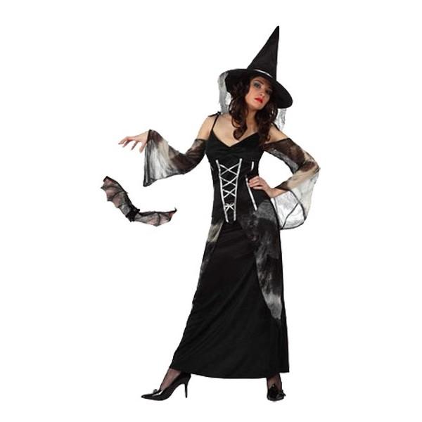 d guisement sorci re noire pour adulte la magie du d guisement achat deguisement et costumes. Black Bedroom Furniture Sets. Home Design Ideas