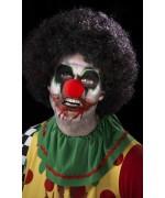Réalisez facilement votre maquillage de clown pour halloween avec ce set de maquillage clown maléfique