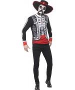 Déguisement de mexicain Day Of The Dead pour homme