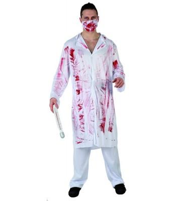 Déguisement médecin fou halloween