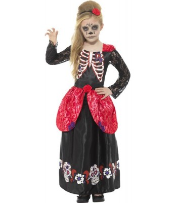 Déguisement mexicaine fille day of the dead