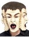 Masque à 3 visages halloween