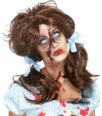 Perruque Dorothy Zombie Femme La Magie Du Deguisement Costumes Et