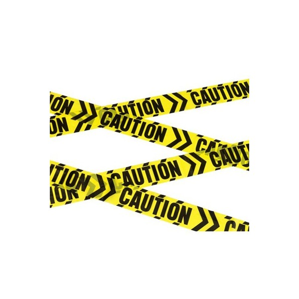 Fabuleux Banderole attention danger - la magie du déguisement, décors pour  XD73