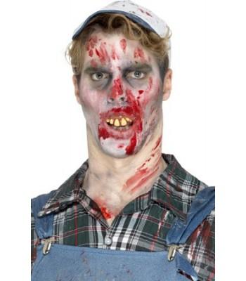 Dents de zombie halloween