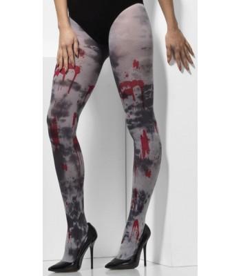 Collants zombie opaques femme - la magie du déguisement 05fa60bc70b