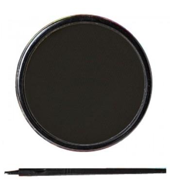 Maquillage noir à l'eau + pinceau