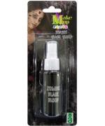 Faux sang noir en spray de 30 ml idéal pour vos maquillages pour halloween