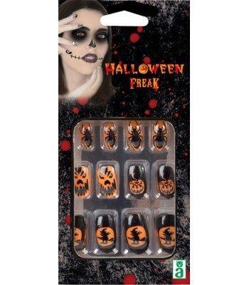 Faux ongles sorcière halloween