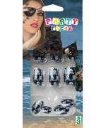 Faux ongles pirate pour femme