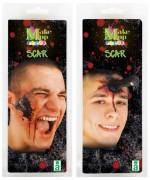 Prothèse écrou ou pieu planté en latex - maquillage halloween