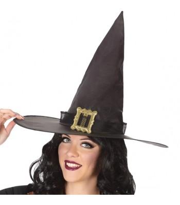 Chapeau sorcière noire halloween