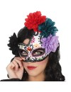 "Loup mexicain avec fleurs ""Day of the dead"""